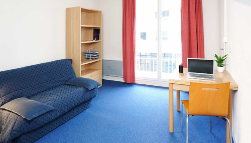 Logement tudiant lille r sidence tudiante les for Chambre universitaire toulouse
