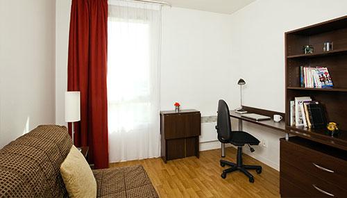logement tudiant caen r sidence tudiante les estudines le clos beaumois. Black Bedroom Furniture Sets. Home Design Ideas