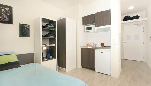 Logement tudiant reims r sidence tudiante les for Appartement universitaire bordeaux
