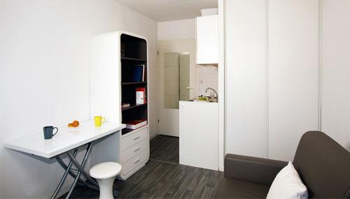 logement tudiant tours r sidence tudiante les estudines l onard de vinci. Black Bedroom Furniture Sets. Home Design Ideas