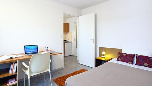 logement tudiant clermont ferrand r sidence tudiante les estudines sarah bernhardt. Black Bedroom Furniture Sets. Home Design Ideas