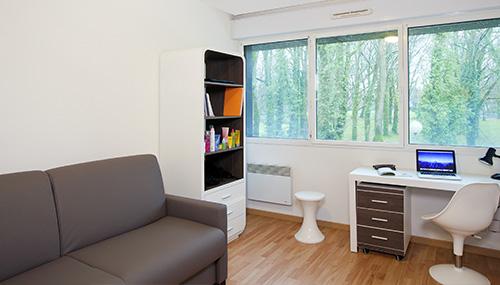 logement tudiant nantes r sidence tudiante les estudines ren cassin. Black Bedroom Furniture Sets. Home Design Ideas