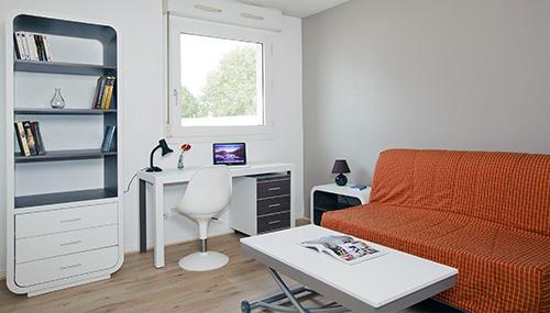 Logement tudiant bordeaux r sidence tudiante les for Logement studio bordeaux