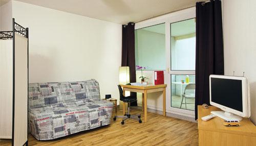 logement tudiant grenoble r sidence tudiante les estudines europole. Black Bedroom Furniture Sets. Home Design Ideas